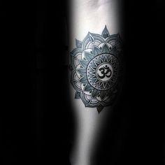 90 Om Tattoo Designs For Men - Spiritual Ink Ideas Trendy Tattoos, Tattoos For Guys, Tattoos For Women, Cool Tattoos, Neue Tattoos, Body Art Tattoos, Sleeve Tattoos, Shiva Tattoo, Mandala Sleeve