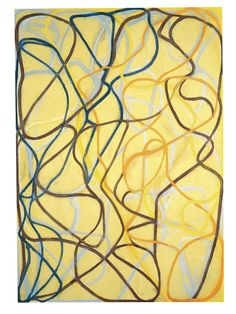 The Sisters (1991-3) - Brice Marden - Colour and Movement