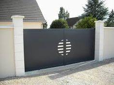 """Résultat de recherche d'images pour """"portail fer moderne"""""""