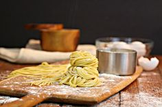 Homemade pasta is one of life's simplest culinary pleasures. Three ingredients are all you need -- flour, eggs and salt. That's it.