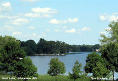 Snail Lake in Shoreview, Minnesota has a public launch, walking and biking trails, as well as a picnic area and beach.