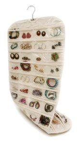 80 Grids PocketsSet Organizadores Box Hanging Jewelry Organizer