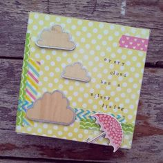 Silver Linings Canvas by teaandcraft