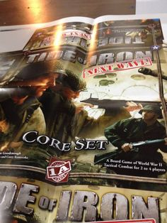 Our New Tide of Iron Next Wave game is underway - Printer Proofs! For more information, see this Kickstarter update at https://www.kickstarter.com/projects/1641418217/1as-next-wave-tide-of-iron-core-set-and-stalingrad/posts/900750.
