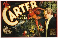 Another Carter the Great poster. Vintage.