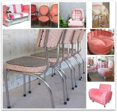pink chair collage2