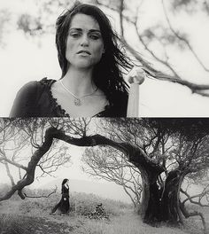 Morgana at Mordred's grave. I actually thought that this was really sad. In the midst of her bitterness and obsession with revenge, she pauses to bury the only person left who cared about her. It's morning, meaning it took all night for her to drag Mordred from the battlefield by herself and find a proper spot to bury him. She felt that he loved her as she loved him. So to lose the one person who loved her--knowing that it was probably her fault her died--must have cut deep.