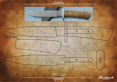 facón chico: Moldes de Cuchillos Knife Template, Knife Patterns, Diy Knife, Cool Knives, Knife Making, Knifes, Blacksmithing, Shotguns, Weapons