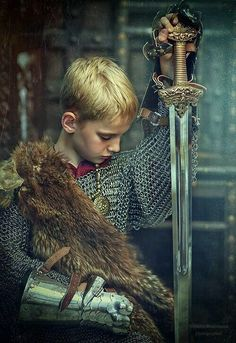 A young king, or other noble...