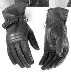 River Road Monterey Leather Gloves