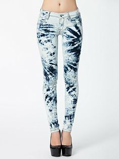 Eva Stretch Denim Pant - Fornarina - Denim - Jeans - Kläder - Kvinna - Nelly.com