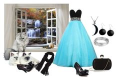 """Having help getting ready for the Moonlight Ball"" by barebear1965 ❤ liked on Polyvore"