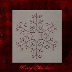 RedworkFlakes #1 December