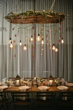 Looks like a wedding reception.. But super cool