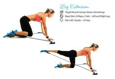 Leg extensions using a gymstick - exercises for a Brazilian butt - images - Women's Health & Fitness