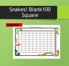 Blank 100 Square Maths Addition and Subtraction,Fun Way to Count, Size with 1 activities. Learning Numbers, Fun and Active Learning Subtraction Games, Math Multiplication, Maths, Math Addition, Addition And Subtraction, Fun Math Worksheets, Times Tables, Different Games, Learning Numbers