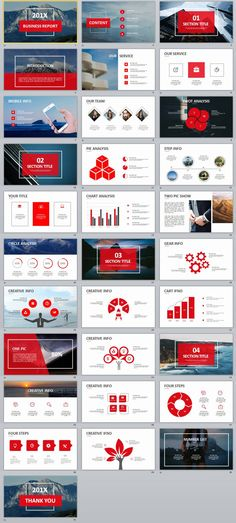 31+ Best red Business Design PowerPoint templates