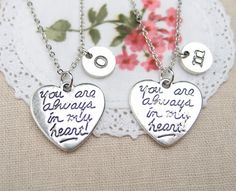 Pretty sure people who are following me are sick of me pinning all these couples necklaces XD