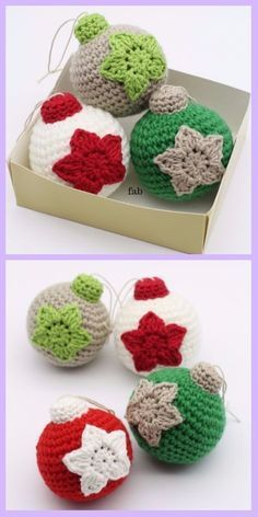 Christmas Crochet Round Up! Decorate your home with these 10 free patterns… Lullaby Lodge: Christmas Crochet Round Up! Decorate your home with these 10 free patterns… Crochet Christmas Decorations, Crochet Christmas Ornaments, Crochet Decoration, Holiday Crochet, Crochet Snowflakes, Christmas Baubles, Crochet Gifts, Christmas Crafts, Tree Decorations