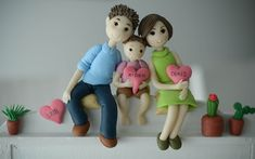 Flower Pot Art, Flower Pots, Marriage Anniversary Cake, Clay Crafts, Arts And Crafts, Clay Wall Art, Clay Videos, Wedding Renewal Vows, Art N Craft
