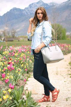 Tulips and Denim | Urban Ombré -- A Fashion Blog