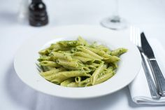 Children's Menu - Pesto Verde - Penne