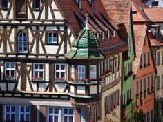 Houses of Rothenburg, © Rothenburg Tourismus Service