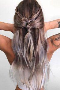 Boho and hippie hairstyles #bohochic #boho #hippie #hairstyles