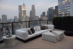 Tribeca penthouse in NYC by Julie Hillman Design