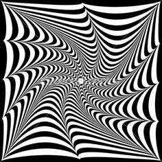 Оптические иллюзии и черных полос в виде tw — стоковая иллюстрация  50971401 999194cbcf2