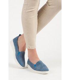 Kožené mokasíny Vinceza TOP18-11808BL Slip On, Sneakers, Shoes, Fashion, Tennis, Moda, Slippers, Zapatos, Shoes Outlet