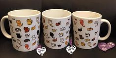 Cat Mug filled with kitties