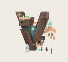 Resort Type - Letter V