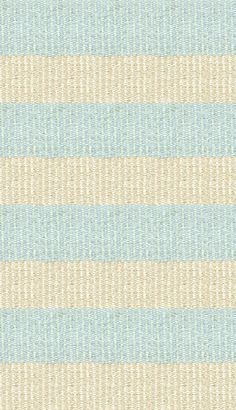 Hampton Indoor/Outdoor PVC Rug - Powder Blue, Mint, and Cream