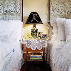 Share a Bedside Lamp