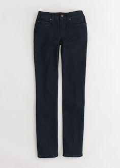 Eileen Fisher Straight Leg Jeans   Organic Cotton Denim   Rodale's