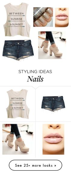 """""""Untitled #363"""" by katezquaddirectioner on Polyvore featuring rag & bone/JEAN, Pretty in Boots and LASplash"""