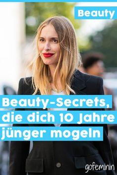 Wow! Diese Beauty-Geheimnisse für ein jüngeres Aussehen musst du kennen! #beautytipps #antiaging #hautpflege #makeuptipps