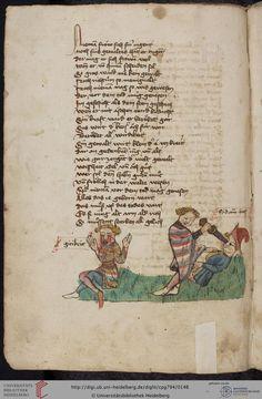 Cod. Pal. germ. 794: [Ulrich] Boner: Edelstein (Schwaben (Oberrhein?), um 1410/1420), Fol 70v