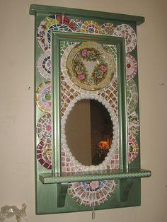 mosaic mirror (2) by Designsbyshell, via Flickr