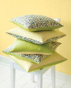 Reversible Pillows!!
