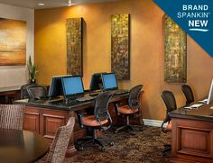 Business Center for Residents  #SanMarquis..awesome! #MarkTaylorDreamRoom