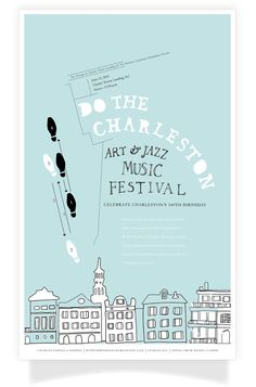 Do The Charleston, Art & Jazz Music Festival by Kailie Parrish