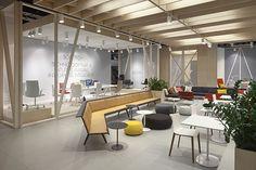 Arper Orgatec Fun Office Design, Cool Office Space, Arper Furniture, Temporary Structures, Create Space, Office Interiors, Design Inspiration, Architecture, Wall
