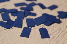 Blue Police Box Doctor Who TARDIS Themed Party Confetti - 100 Pieces. $3.99, via Etsy.