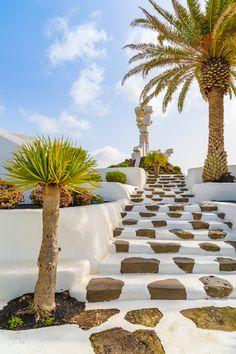 Staircase to El Campesino Monument, Lanzarote. #lanzarote #spain #europe