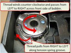 Singer 401a Bobbin Thread Instructions