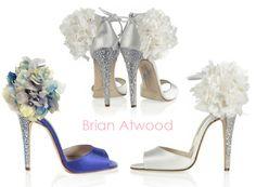 ...love Maegan: DIY Brian Atwood Flower Sandals... {Perfect Wedding Shoes} Fashion + DIY + Lifestyle