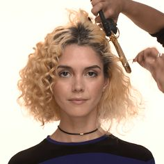 How to accentuate natural curls.