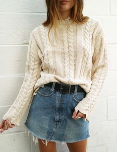 isabelle's cabinet Acacia Tan Sweater - Clothes